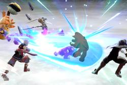 Vista previa de Cadena en la sección de Técnicas de Super Smash Bros. Ultimate