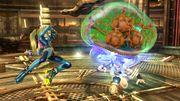 Metroide atacando a Pit en la Central Geotermica SSB4 (Wii U) .jpg