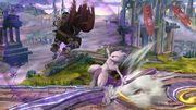 Lanzamiento hacia adelante Mewtwo (2) SSB4 (Wii U).JPG