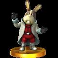 Trofeo de Peppy Hare SSB4 (3DS).png