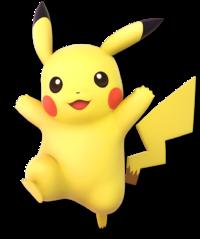 Pikachu en Super Smash Bros. Ultimate