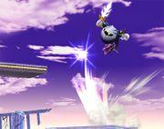 Meta Knight usando Lanzadera SSBB.jpg