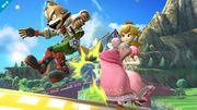 Lanzamiento hacia atrás de Peach en Super Smash Bros. (Wii U).jpg