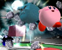 Piedra en Super Smash Bros. Melee