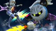 Meta Knight atacando a Sheik en el Castillo del Dr. Willy SSB4 (Wii U).png