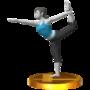 Trofeo de Entrenadora de Wii Fit SSB4 (3DS).png