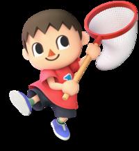 Aldeano en Super Smash Bros. Ultimate