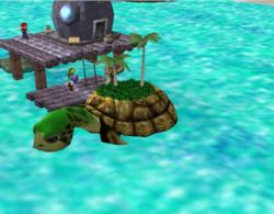 Escenario Gran Bahía visto con la pantalla rotada