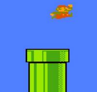 Tubería en Super Mario Bros.