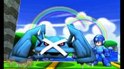 Mega Man junto a Metagross SSB4 (3DS).jpg