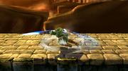 Ataque de recuperación boca abajo de Link SSB4 (Wii U).png