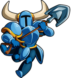 Art oficial de Shovel Knight en Shovel Knight: Treasure Trove