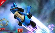 Lucario usando Velocidad Extrema en SSB4 (3DS).png