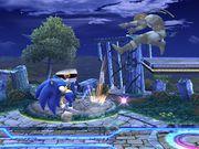 Lanzamiento delantero Sonic SSBB.jpg