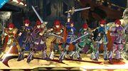 Roy mostrando sus colores alternativos en el Castillo asediado SSB4 (Wii U).jpg