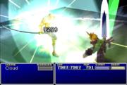 Cloud utilizando Omnilátigo contra Sephiroth en Final Fantasy VII.png