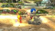 Olimar usando Arrancar Pikmin 3 SSB4 (Wii U).png