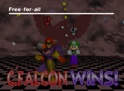 Pose de victoria de Captain Falcon (1-1) SSB.png