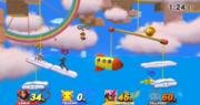 Fase aérea de Yoshi's Woolly World SSB4 (Wii U ).PNG