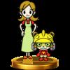 Trofeo de 5-Volt y su hijo