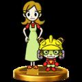 Trofeo de 9-Volt y su madre SSB4 (Wii U).png