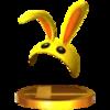 Trofeo de Capucha conejo SSB4 (3DS).png