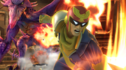 Créditos Modo Senda del guerrero Captain Falcon SSB4 (Wii U).png