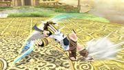 Ataque en carrera (animación 2) Pit SSB4 Wii U.jpg
