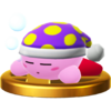 Trofeo de Kirby Sueño SSB4 (Wii U).png