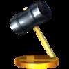 Trofeo de Martillo SSB4 (3DS).png