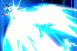 Vista previa de Tormenta aural en la sección de Técnicas de Super Smash Bros. Ultimate