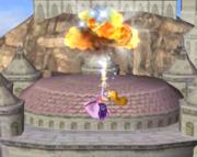 Ataque aéreo hacia arriba de Zelda SSBM.png