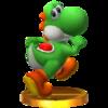 Trofeo de Yoshi SSB4 (3DS).png