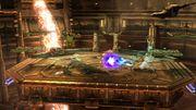 Bowser y Samus luchando en un escenario SSB4 (Wii U).jpg