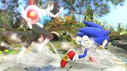 Bomba Gooey adherida a la entrenadora de Wii Fit SSB4 (Wii U).jpg