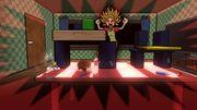 Aldeano, Donkey Kong y Toon Link en GAMER SSB4 (Wii U).jpg