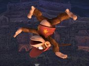 Ataque aéreo normal Diddy Kong SSBB.jpg