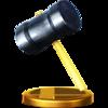 Trofeo de Martillo SSB4 (Wii U).png
