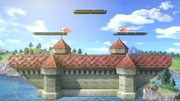 Castillo de Peach (Melee) (Versión Campo de batalla) SSBU.jpg