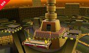 Olimar y Pikachu en la punta de la Torre Prisma - (SSB. for 3DS).jpg