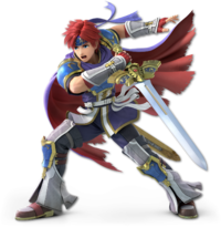 Art oficial de Roy en Super Smash Bros. Ultimate.