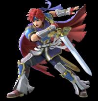 Art oficial de Roy en Super Smash Bros. Ultimate.