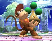 Diddy Kong sosteniendo a Bonsly SSBB.jpg