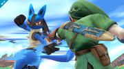 Lucario usando usando Doble Equipo en SSB4 (Wii U).png