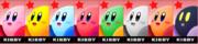 Paleta de colores de Kirby SSB4 (3DS).png