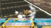 Ataque Smash lateral de Captain Falcon SSB4 (Wii U).png