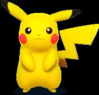 Art oficial de Pikachu en Super Smash Bros. para Nintendo 3DS y Wii U