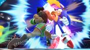 Little Mac golpeando a Sonic SSB4 (Wii U).png