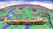 Sobrevolando el pueblo (Versión Omega) SSB4 (Wii U).jpg