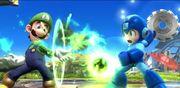 Luigi y Mega Man en Campo de batalla SSB4 (Wii U).jpg